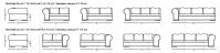 Модульный диван W505 Gold Longhi