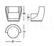 Кресло X675 Laurent Longhi