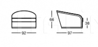 Кресло X630 Pearl Longhi