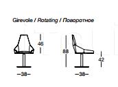 Кресло U125 Miu Longhi