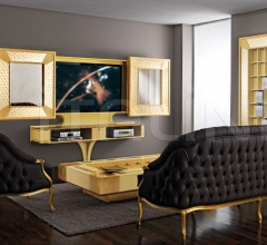 Стойка под TV SLIDING HOME CINEMA MOSAIK фабрика Vismara Design