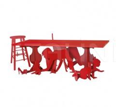 Итальянские столы - Стол 9300/16 Under table фабрика Zanotta