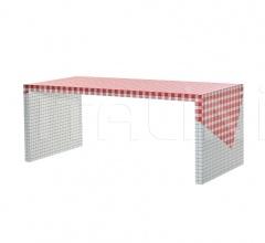 Итальянские столы - Стол 9300/17 Tavolo da pic-nic фабрика Zanotta