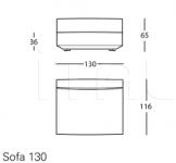 Модульный диван 1272 Pianoalto Zanotta