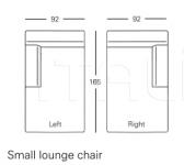 Модульный диван 1323 Greg Zanotta