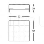 Модульный диван 1326 Alfa Zanotta