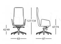 Кресло 2278 Lord Zanotta