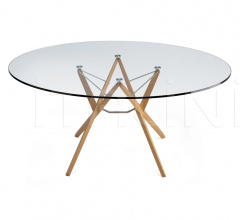 Круглый стол 2337 Orione фабрика Zanotta