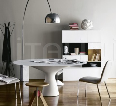 Стол обеденный 2577/C Blanco фабрика Zanotta