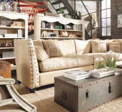 Двухместный диван DB002593 фабрика Dialma Brown