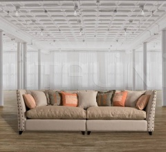 Двухместный диван DB002978 фабрика Dialma Brown