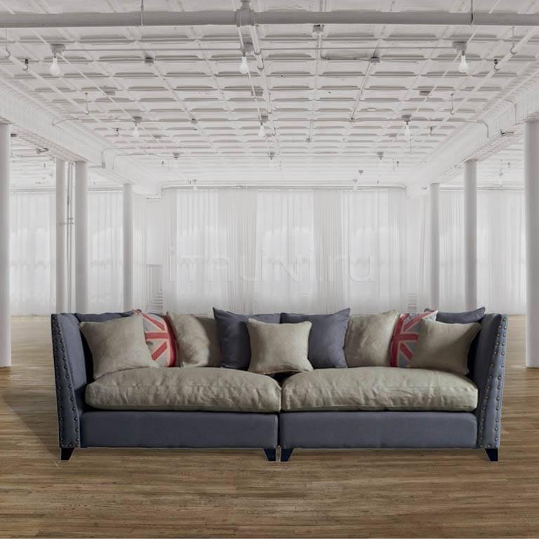 Двухместный диван DB002981 Dialma Brown