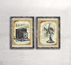 Итальянские рамки для фото и картин - Рамка DB003060 фабрика Dialma Brown