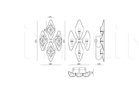 Настенный светильник Alystar IPE Cavalli (Visionnaire)