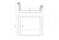 Кровать Jackpot IPE Cavalli (Visionnaire)