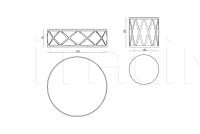 Кофейный столик Kingsley IPE Cavalli (Visionnaire)