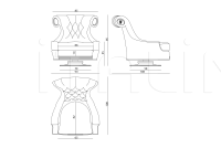 Кресло Valancourt IPE Cavalli (Visionnaire)