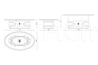 Кофейный столик Conrad IPE Cavalli (Visionnaire)