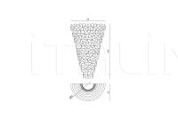 Настенный светильник Alwin IPE Cavalli (Visionnaire)