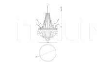 Люстра Idho IPE Cavalli (Visionnaire)