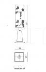 Настольная лампа Excalibur All IPE Cavalli (Visionnaire)