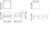 Кресло Zio Lounge Chair Moooi