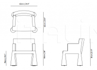 Стул с подлокотниками V.I.P. Chair Moooi