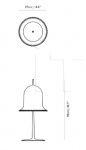 Настольная лампа Lolita table lamp Moooi
