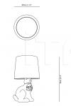 Настольная лампа Rabbit Lamp Moooi