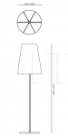 Торшер Light Shade Shade floor lamp Moooi