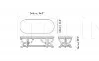 Стол обеденный Paper Table Patchwork Moooi