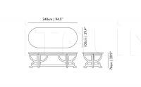 Стол обеденный Paper Table Moooi
