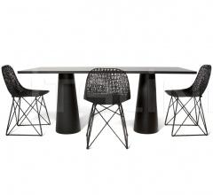 Стол обеденный Container Table 80x180 фабрика Moooi