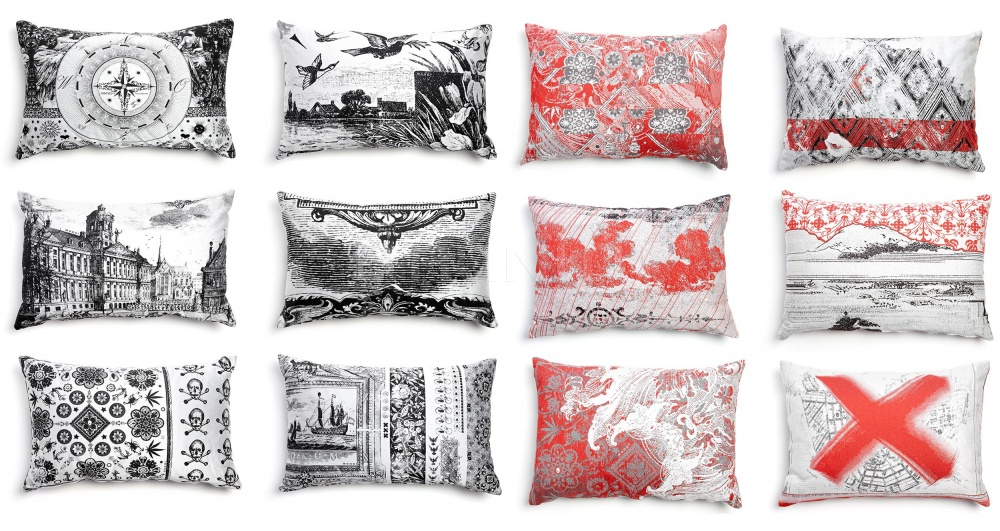 Подушка Heritage & Oil Pillows Moooi