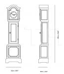 Часы Altdeutsche Clock Moooi