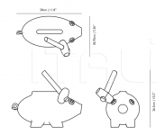 Ваза The Killing of the Piggy Bank Moooi