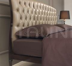 Кровать Lollo leather фабрика Galimberti Nino