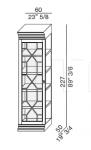 Модульная система Biblioteka Galimberti Nino