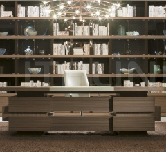 Письменный стол Quadria grande фабрика Galimberti Nino