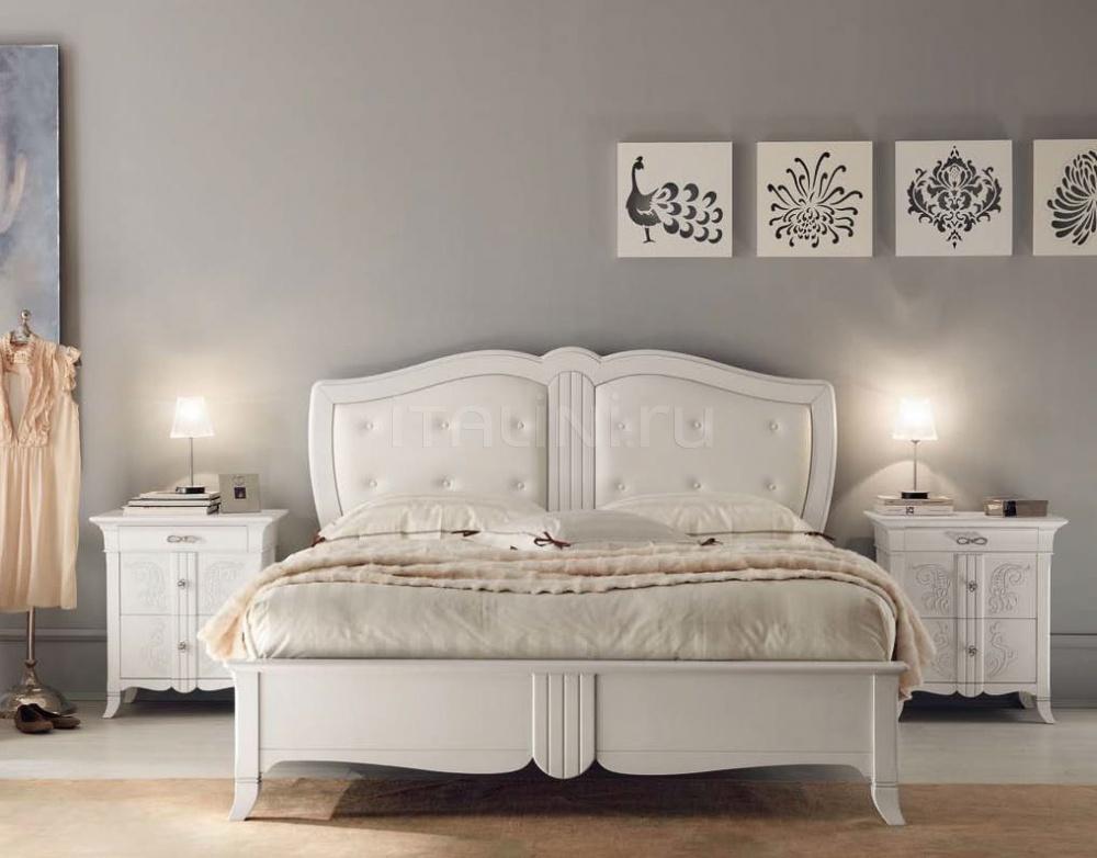 Кровать 6131 bianco Francesco Pasi