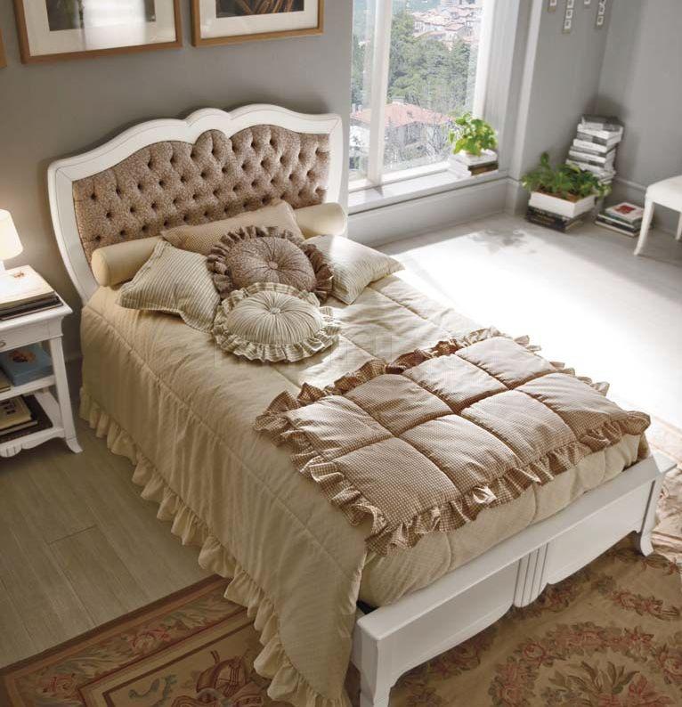 Кровать 6123 bianco Francesco Pasi
