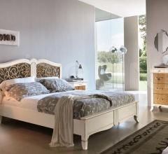 Кровать 6017 luxury bianco фабрика Francesco Pasi