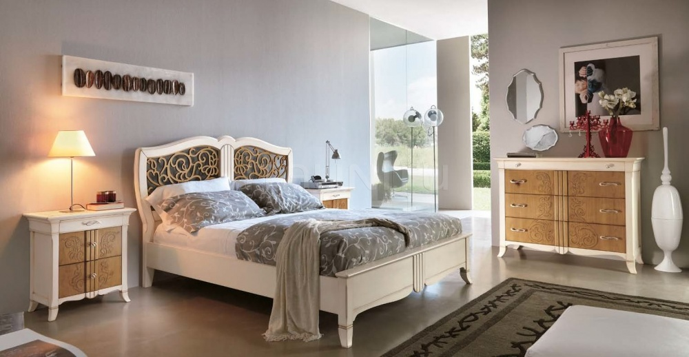 Тумбочка 6016 luxury bianco Francesco Pasi