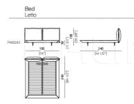 Кровать Auto-Reverse Dream Arketipo