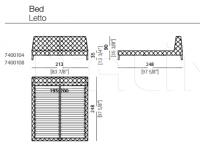 Кровать Windsor Dream Arketipo