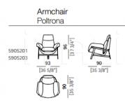 Кресло Jupiter Arketipo