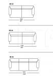 Модульный диван Imperial 3 IL Loft
