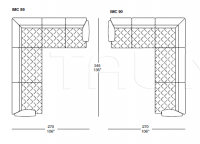 Модульный диван Imperial 3 Capitonne IL Loft