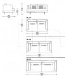 Модульный диван Mercury Line IL Loft