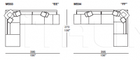 Модульный диван Mercury Soft IL Loft